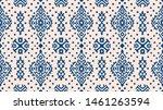 ikat geometric folklore... | Shutterstock .eps vector #1461263594