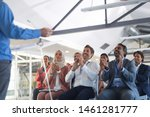 front view of diverse business...   Shutterstock . vector #1461281777