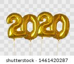 2020 number of gold foiled... | Shutterstock .eps vector #1461420287