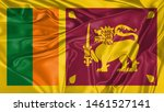 Sri Lanka Flag Of Silk  Flag O...