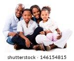 beautiful african american... | Shutterstock . vector #146154815