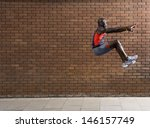 side view of an african... | Shutterstock . vector #146157749