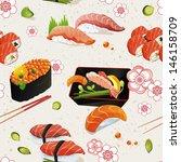 beautiful classic japanese... | Shutterstock .eps vector #146158709