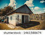 Old Rustic House In The Rural...