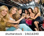 group of beautiful women... | Shutterstock . vector #14616340