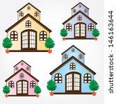 vector illustration of cool... | Shutterstock .eps vector #146163644