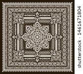 vector ornament paisley bandana ... | Shutterstock .eps vector #1461671804