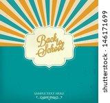 back to school typographic... | Shutterstock .eps vector #146171699