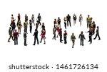 people   arranged in number 50  ... | Shutterstock . vector #1461726134