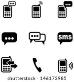 messages icons | Shutterstock .eps vector #146173985