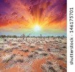 Australia  Outback Landscape....