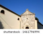 Historic Church of St Anselm in central Nin, Croatia.