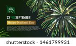happy national day of kingdom... | Shutterstock .eps vector #1461799931