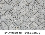 mix shape of stones pattern as... | Shutterstock . vector #146183579