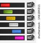 eps10  realistic design elements | Shutterstock .eps vector #146184311