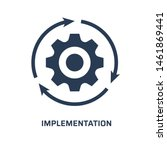 Implementation Icon. Trendy...