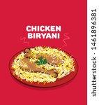 traditional indian cuisine... | Shutterstock .eps vector #1461896381