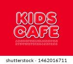 vector bright emblem kids cafe...