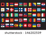 set of rounded square icons... | Shutterstock .eps vector #146202539