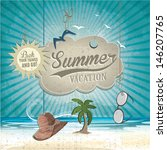 summer vacation | Shutterstock .eps vector #146207765