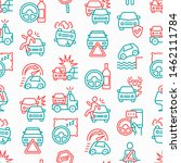 car accident seamless pattern... | Shutterstock .eps vector #1462111784