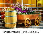 Flowers On The Wagon....