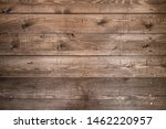 Old Brown Wood Background Made...