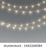 vector christmas lights ... | Shutterstock .eps vector #1462268384