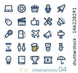universal icons set perfect... | Shutterstock .eps vector #146228291