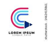 creative logo design. letter c. ...