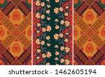 indonesian batik motifs with...   Shutterstock .eps vector #1462605194