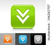download arrow icon. blue ...