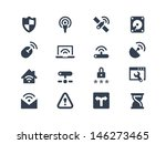 wireless network icons | Shutterstock .eps vector #146273465