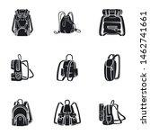 tourist backpack vector icon... | Shutterstock .eps vector #1462741661