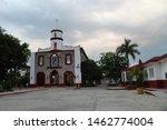 church of santa catarina in... | Shutterstock . vector #1462774004