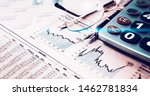 business and financial... | Shutterstock . vector #1462781834