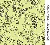decorative vine seamless vector ... | Shutterstock .eps vector #146278409