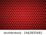 red geometric polygons...   Shutterstock .eps vector #1462835681
