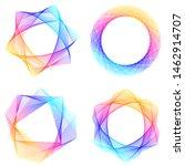 soft rainbow color. linear...   Shutterstock .eps vector #1462914707