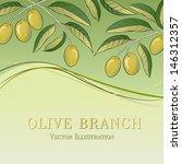 olive oil backgound. vector... | Shutterstock .eps vector #146312357