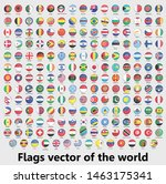 flags vector of the world ... | Shutterstock .eps vector #1463175341
