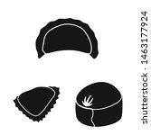 vector design of cuisine and... | Shutterstock .eps vector #1463177924