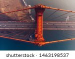 Aerial View Of Golden Gate...