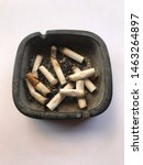 Smokeless White Cigarette Butts ...