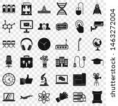 international conference icons... | Shutterstock . vector #1463272004