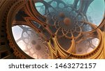 abstract background  fantastic... | Shutterstock . vector #1463272157