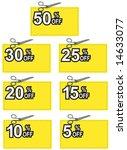 discount coupons | Shutterstock . vector #14633077