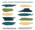 isolated label brush stroke...   Shutterstock .eps vector #1463325377