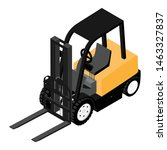 forklifts  reliable heavy... | Shutterstock .eps vector #1463327837