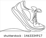 Illustration Of Sneakers....